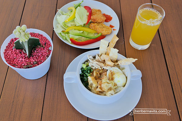 makanan trizara resort