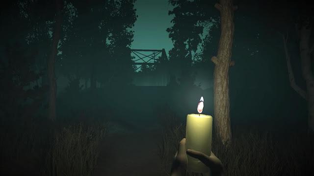 randomly-generated horror game