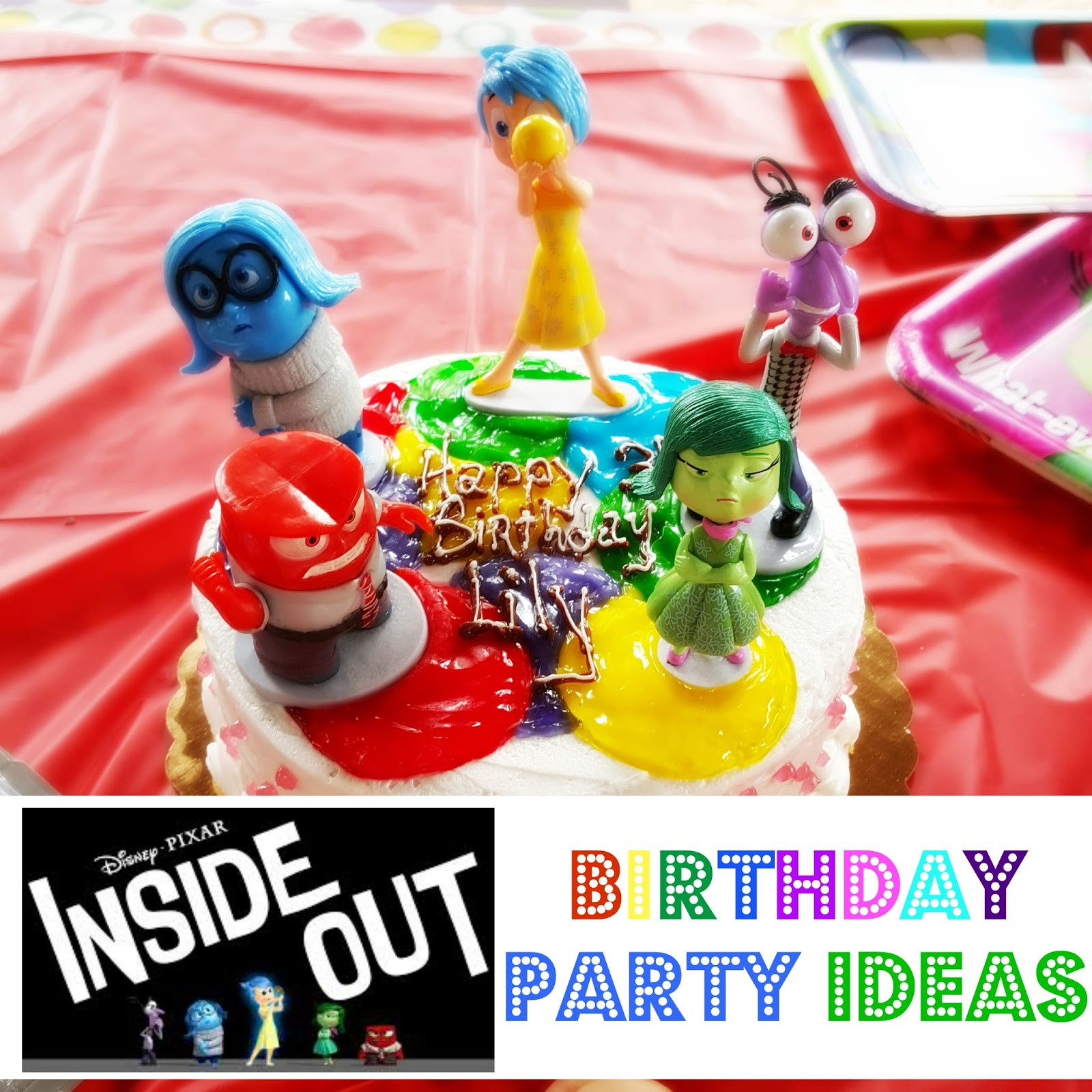 SAM SCHUERMAN Disney INSIDE OUT Birthday Party Ideas