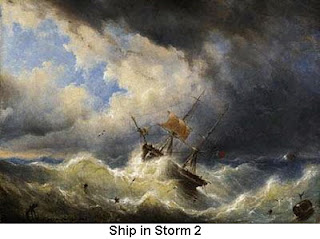 Ship in Storm 2