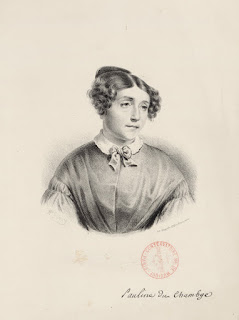 Pauline Duchambge, vers 1820 - A. Sarcy, lith.
