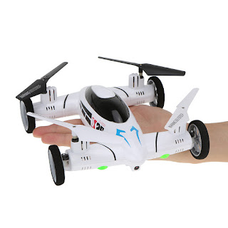 SY X25 Drone Quadcopter Sekaligus RC Car - OmahDrone