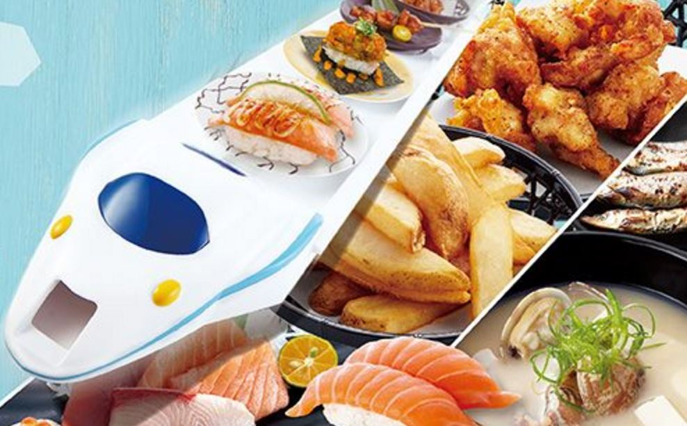 Mar. 24 - 27 | 50% Off Sushi @ Magic Touch Bullet Train Sushi - Cerritos