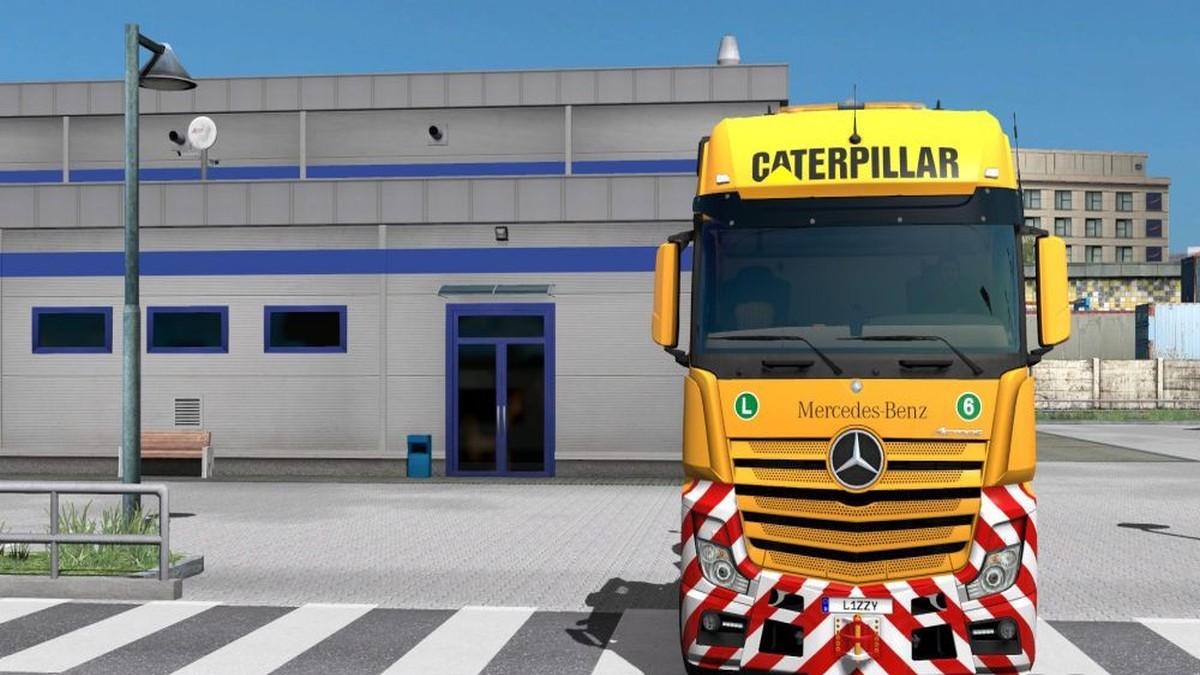 MP4 Caterpillar Skin