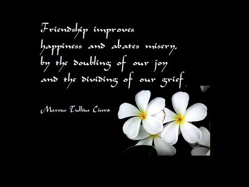 Quotes About Friendship. QuotesGram