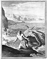 Jona wird vom Wal wieder ausgespuckt