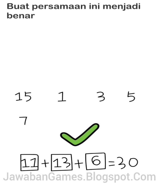 Kunci Jawaban Brain Out Buat Persamaan Ini Menjadi Benar : kunci, jawaban, brain, persamaan, menjadi, benar, Brain, Level, Persamaan, Menjadi, Benar, (Terbaru, 2021)