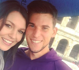 Dominic Thiem And Romana Exenberger In Happy Selfie