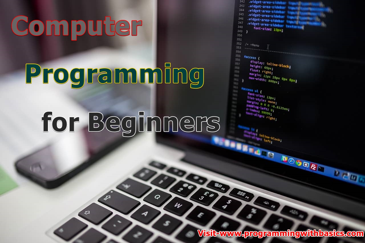 Computer Programming for Beginners