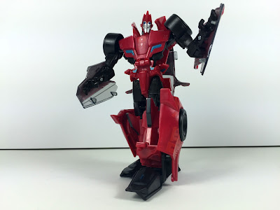 transformers robots in disguise warrior sideswipe articulation