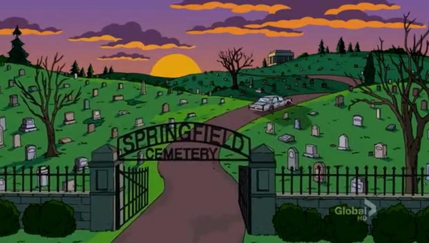 Stultifer . Ciudad De Los Muertos: Los Simpson, En Oregón