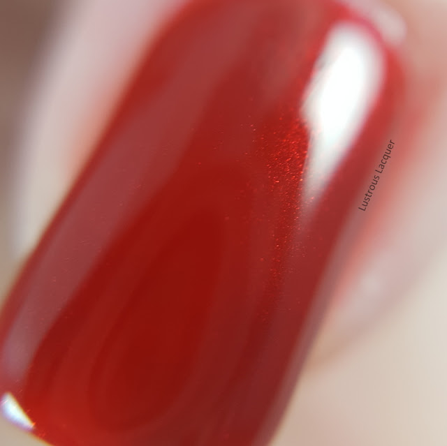 True-Red-Jelly-nail-polish-with-red-shimmer