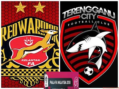 Live Streaming Kelantan vs Terengganu City FC Piala FA Malaysia 2 Mac 2018