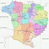 Peta Kabupaten Blora Lengkap 16 Kecamatan