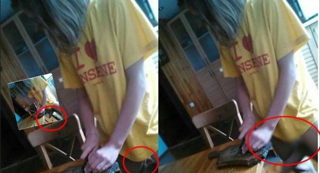 Foto Gadis Yang Sedang Potong Sayur ini Bikin Gagal Fokus, Liat Bagian Bawahnya Bikin Bengong!