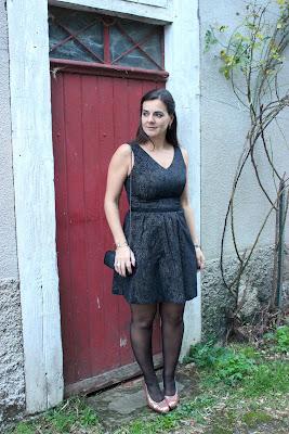 tenue de fêtes robe tulle naf naf les petites bulles de ma vie
