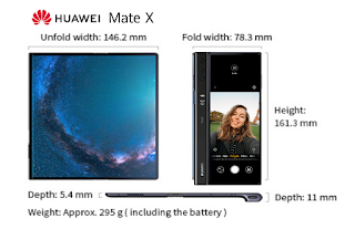 Huawei Mate X User Manual, Manuals, Guide, Huawei Mate X User Guide PDF