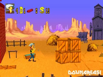 Lucky Luke PS1 Game