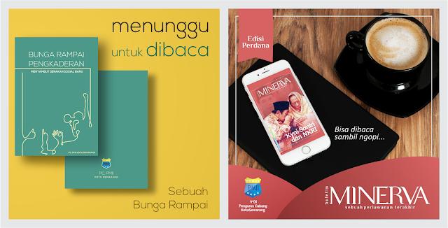 """Download Bunga rampai Pengkaderan: Menyambut Gerakan Sosial Baru dan Buletin Minerva Edisi #1 """"Kiayi-Santri dan NKRI"""" PC. PMII Kota Semarang 2016-2017"""