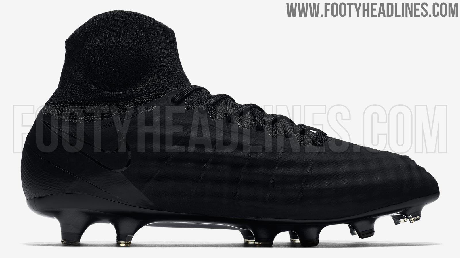 9a23415d0 ... Blackout Nike Magista Obra II Academy Pack Boots Released - Footy Hea  ...