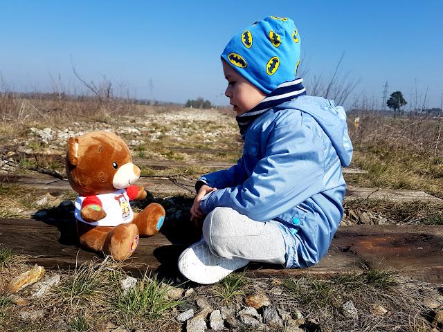 Miś Eduś - Kupzabawke.pl - Artyk - zabawki dla dzieci - zabawki interaktywne- zabawki edukacyjne - prezent na Dzień Dziecka - prezent dla dziecka - interaktywny miś