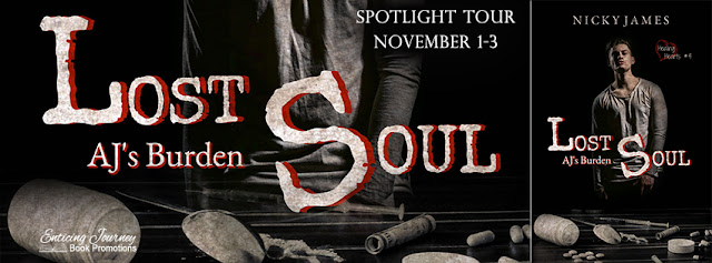 Spotlight Package and Giveaway: Lost Souls by Nicky James