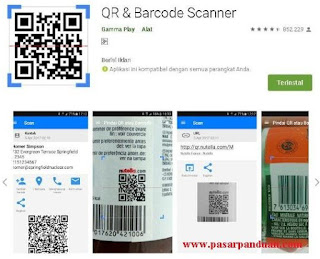 cara scan barcode menggunakan hp android