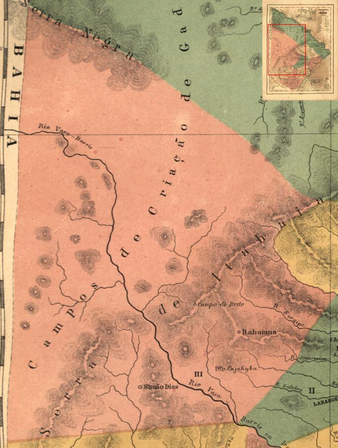 Sergipe | Mapas Antigos de Sergipe