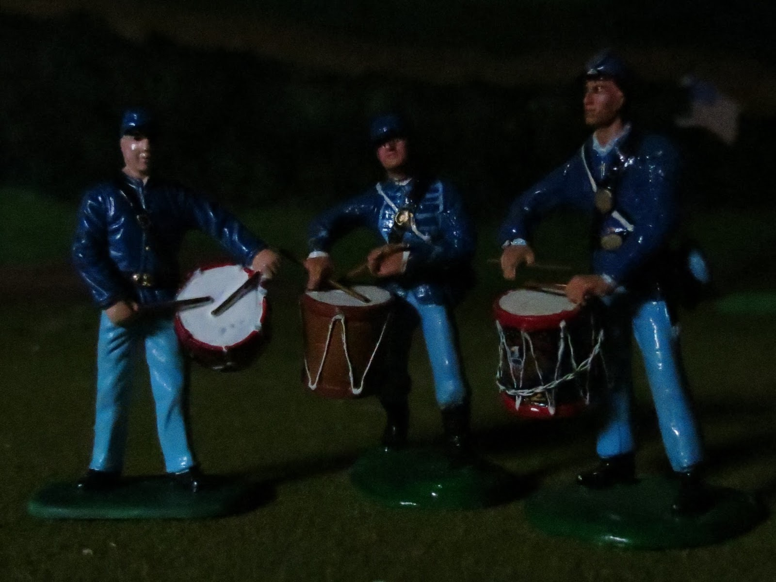Mannie Gentile Toy Soldiers Forever  Tenting on the old c&ground...  & Mannie Gentile: Toy Soldiers Forever: