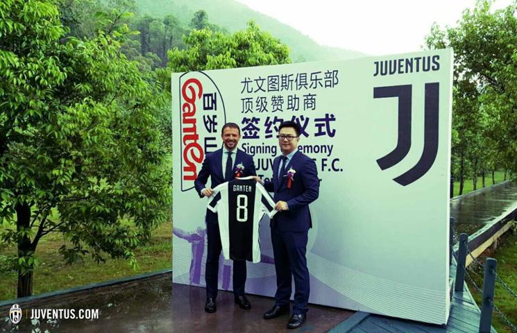 Juventus potpisao globalno partnerstvo sa Ganten Water