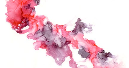 Fire on High - an alcohol ink painting tutorial