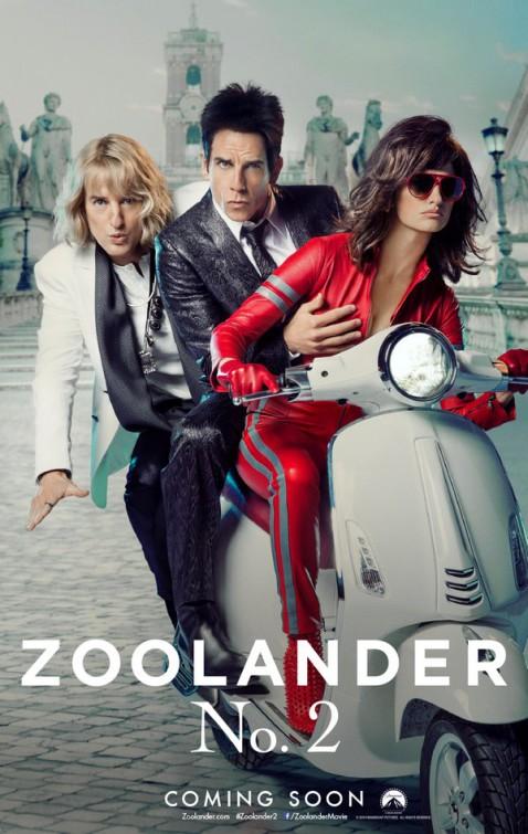 Nonton Film Zoolander 2 (2016)
