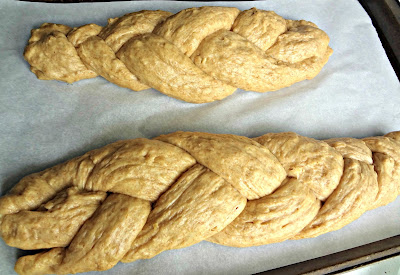 Daring Bakers Challenge-Challah Bread (Whole Wheat)
