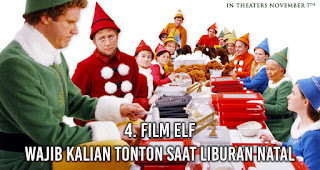 Film Elf wajib kalian tonton saat Liburan Natal