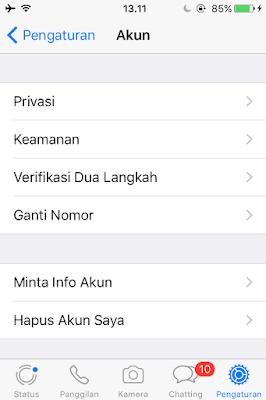 Tutorial Agar Whatsapp Terlihat Tidak Online Oleh Orang Lain 3