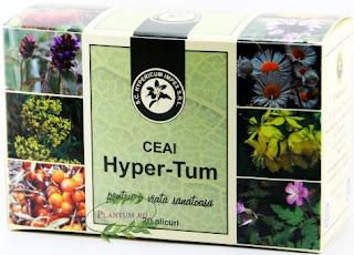 Ceai si capsule cu efect antitumoral Hyper-Tum