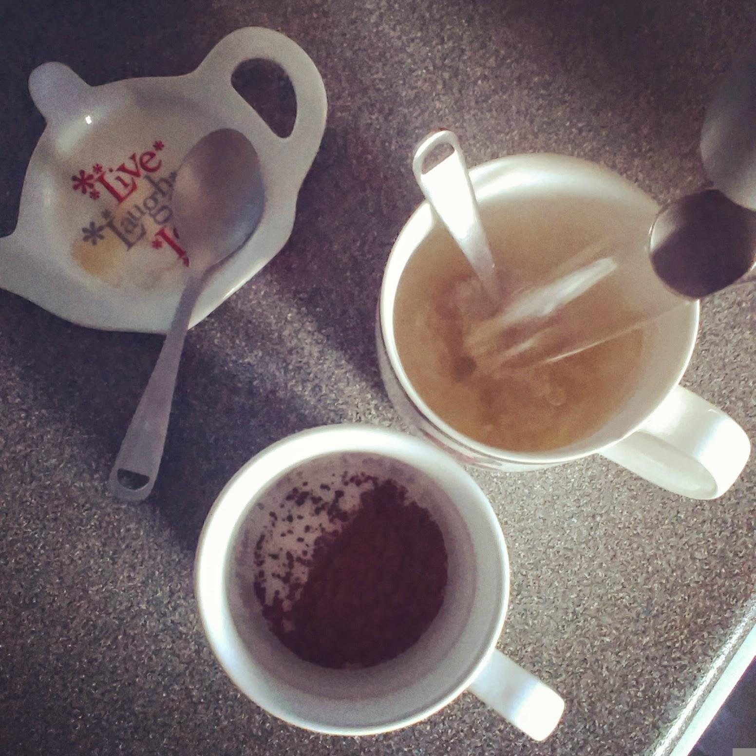 5pm - making tea