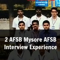 2 AFSB Mysore AFSB Interview Experience