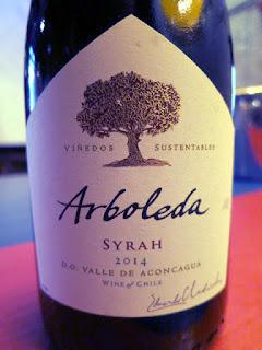 Arboleda Syrah 2014 - DO Aconcagua Valley, Chile (89 pts)