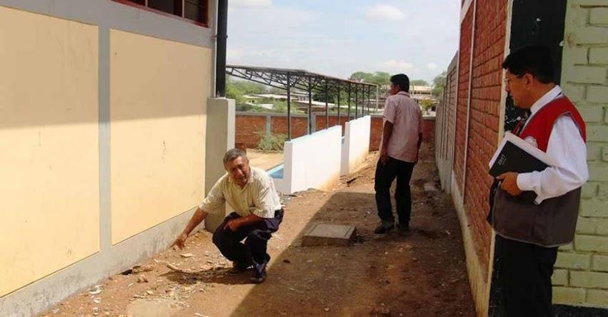 UGEL Sullana intervendrá infraestructura educativa para evitar colapso - DRE Piura