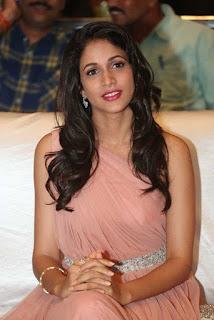 Lavanya Tripathi in Sexy Gown Spotted at Srirastu Subhamastu Pre Release Function
