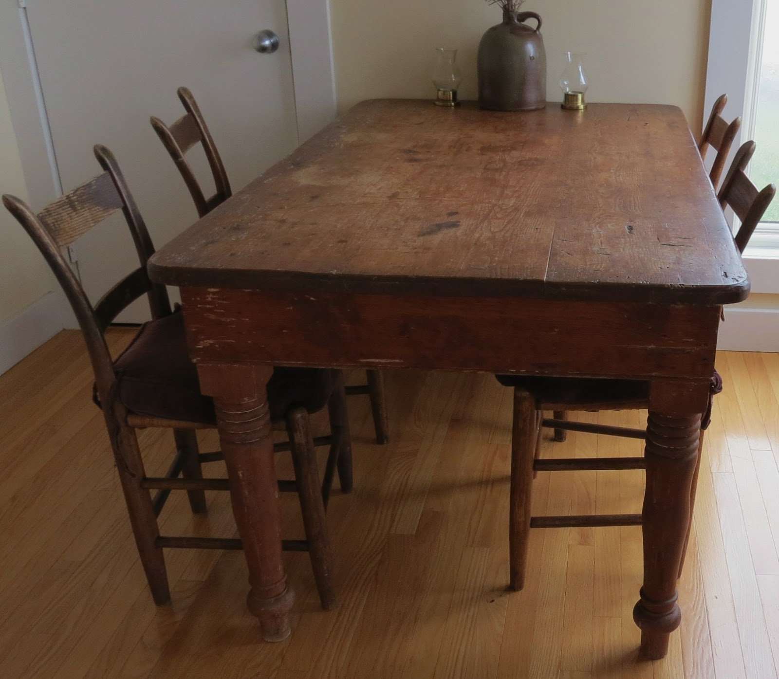 distressed kitchen table islands in kitchens linda beam quotan affection for staging quot tips on how to