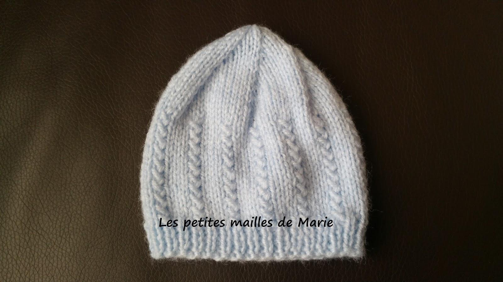 Les petites mailles de marie bonnet pour b b pr matur - 3 petites mailles ...