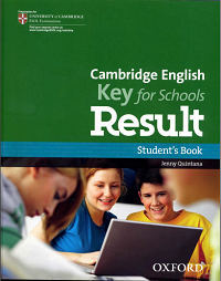 Cambridge English Key for schools Result - Student Book