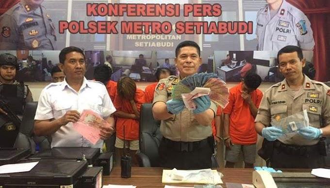 Komplotan Pengedar Uang Palsu di Bogor Di Ciduk Jajaran Polsek Setiabudi