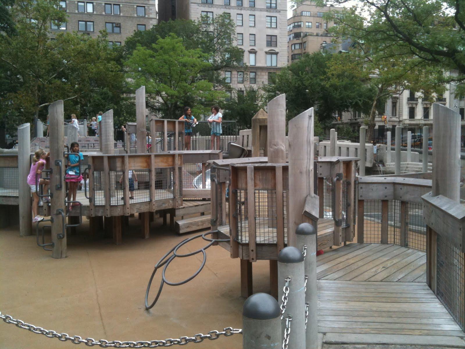 New York City Park Hopper Ancient Playground Central Park