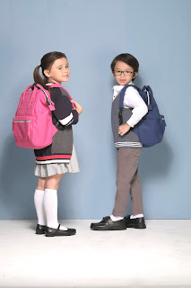 READY FOR SCHOOL WITH SM SHOES AND BAGS