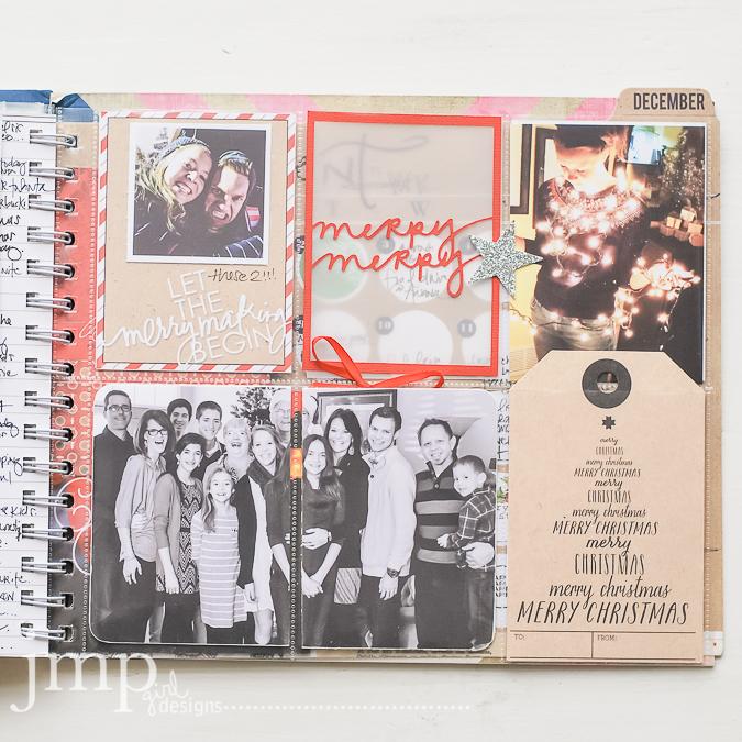 december memory planner 2014 @jamiepate @heidiswapp #hshellotoday