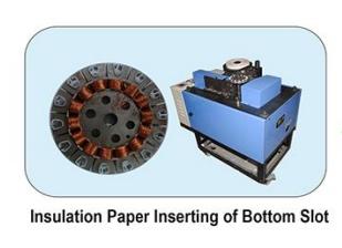 Insulation Paper Inserting Machine - BOTTOM SLOT image