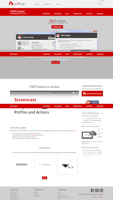 PDFCreator–Best Open source PDF Printer | Technology Knowledge Base